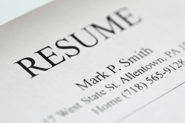 CVs and Resumes